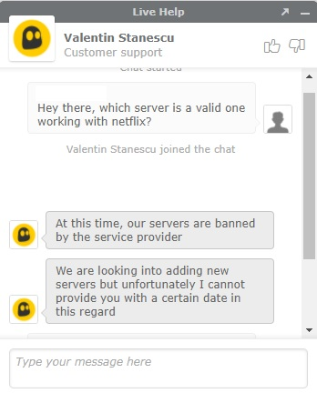 cyberghost customer support experience