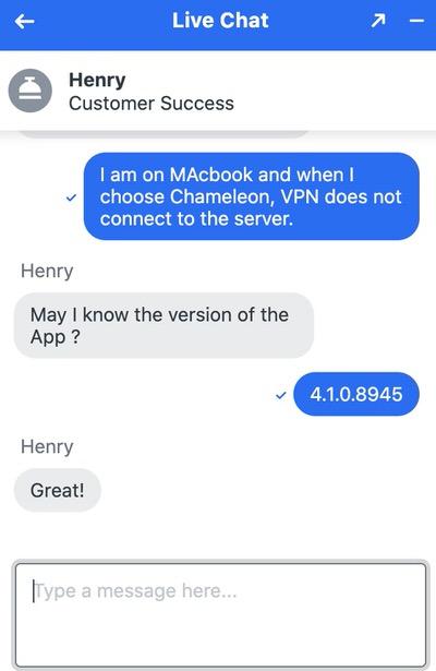 VyprVPN tiene uno de los servicios de atención al cliente más rápidos que puedas ver.